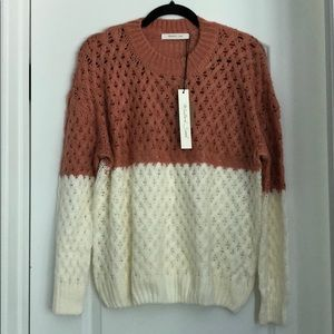 NWT Mustard Seed sweater size small